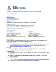 MIS 543-Syllabus-Fall2013(3)