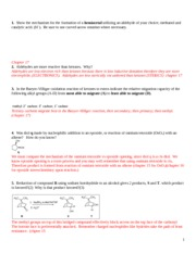 Chem 332 Spring 08 Exam II Practice WITH ANSWERS