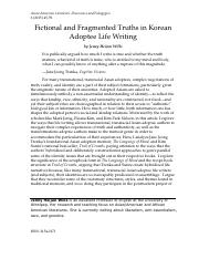 Fictional Truths in Korean Adoptee Life Writing.pdf