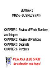 1 MM255 Seminar 1_animated - NOTES FOR STUDENTS.ppt
