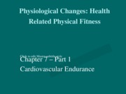 Chapter_7_Notes_Part_1_Cardiovascular_Fitness