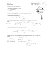Phy 110 Notes 8