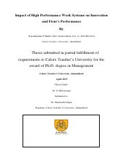 Ph.D. Thesis  - Impact of High-Performance Work Systems on Innovation and Firm's Performance.pdf