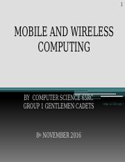 MOBILE AND WIRELESS COMPUTING group1.pptx