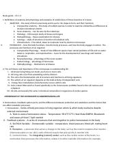Study guide 1 ch 1-3