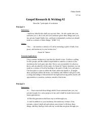 Gospel Research & Writing #2.docx