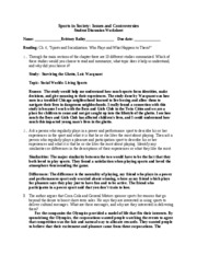 Chapter 4 Worksheet