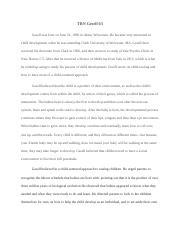 gesell maturation theory pdf