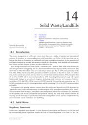 Solid Waste and Landfills