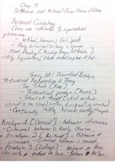CJ 323 Deterrence and Rational Choice Theory Notes