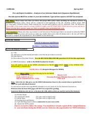 03 - Pre-Lab Guideline for Unknown Acid Analysis (Aqueous Equilibrium) Lab