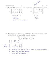 Fall 2009 Midterm #1 Solutions
