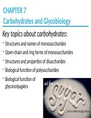 CH7_Carbohydrates_Part1
