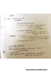 Chapter 4 Class Notes