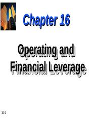 Chapter-16-Operating-and-Financial-Leverage.ppt