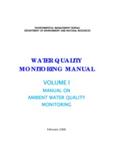 Water Quality Monitoring Manual Vol. 1 - ambient_14aug08