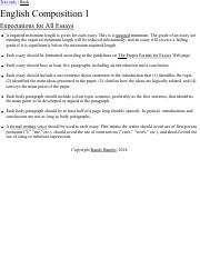 ENG 1001: Requirements for All Essays.pdf