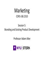 Session 5 Branding and Existing Product Development.pdf