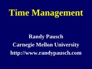 TimeManagementTalk