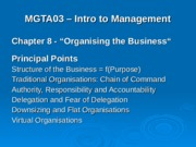 11 Chapter 8 - Organising the Business.ppt