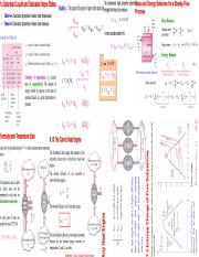 Thermo Final Cheat Sheet