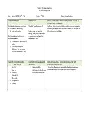 Accountability PlanREADING5.4.14