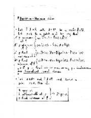 Scalar optimization notes