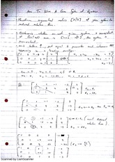 How To Solve A Given System Of Equations Class Notes 2