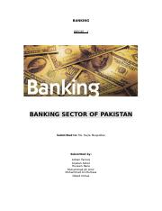 BANKING (report 1)