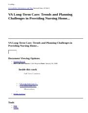 VA Long-Term Care  Trends and Planning Challenges in Providing Nursing Home...  EBSCOhost.htm