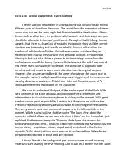 nats 1700 essay