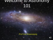 2012 Lecture 01 - Introduction to Astronomy
