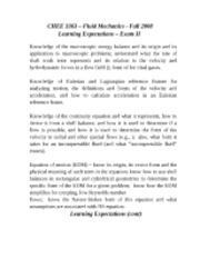 Learning Expectations - Exam 2[1]
