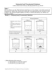 POGIL - Solutions.pdf - Saturated and Unsaturated ...