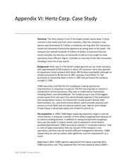 hbs case study the hertz corporation Essays - largest database of quality sample essays and research papers on hbs case study the hertz corporation.