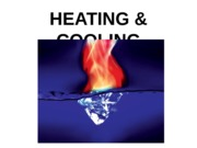 LECTURE #4 HEATING  COOLING EQUIP