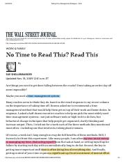 No time to read this - WSJ.pdf