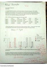 BIO102L data analysis homework assignment completed