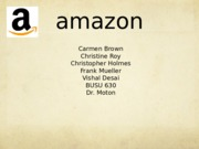 Amazon Presentation _updated_VD