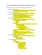 Learning Objectives The Legal Enviornment.docx