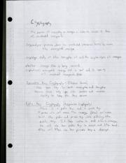 cryptography notes