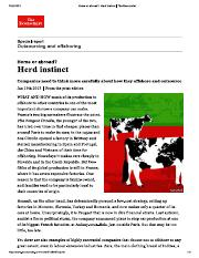 Producing abroad_ Herd instinct _ The Economist