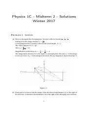 PHYSICS 1C - Midterm 2 Solutions .pdf