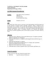 ACC3604 Course Outline Semester 1 AY13-14
