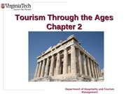 Chapter 2 Tourism through the Ages