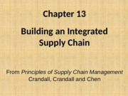Chapter 13  How to Integrate PSCM2E