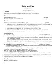 ENG 100WB Resume (Revised)