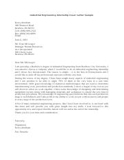 ##Industrial Engineering Internship Cover Letter Sample.docx