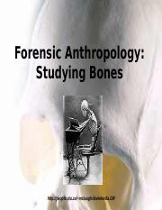 1.2.3 Forensic Anthropology.ppt