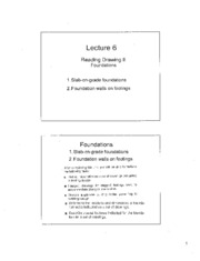 Lecture 6 - Foundation Reading Drawing 2